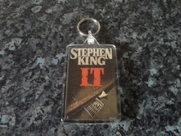 It Jumbo Keyring. Stephen King Book Art. Pennywise the Clown. Horror